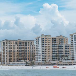 Condo's Along Clearwater Beach Florid