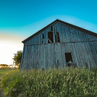 A barn in central Wisconsin