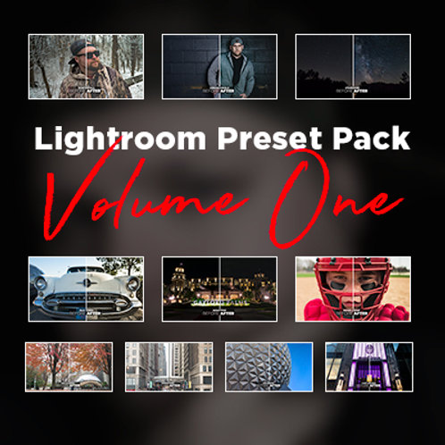 Lightroom Preset Pack Volume 1
