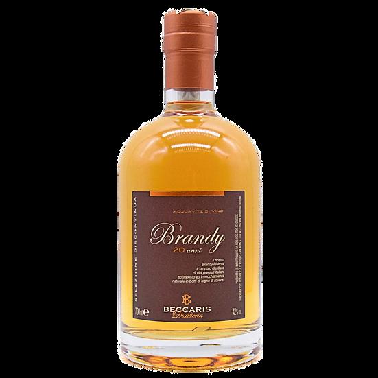 BECCARIS - Brandy (700ml) in luxe doos