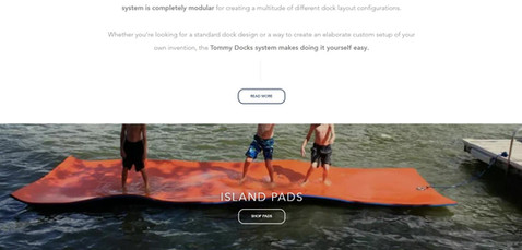 Tommy Docks eCommerce Website Project