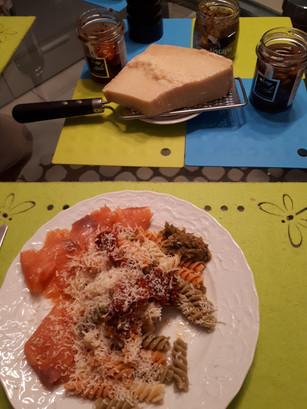 Mijn lerares Italiaans kan ook koken!