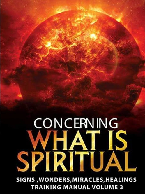 Concerning What is Spiritual - Ebook - Training Manual