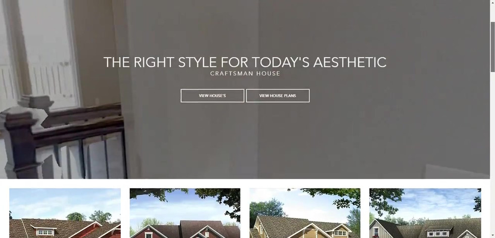 Summit Homes Web Design Project