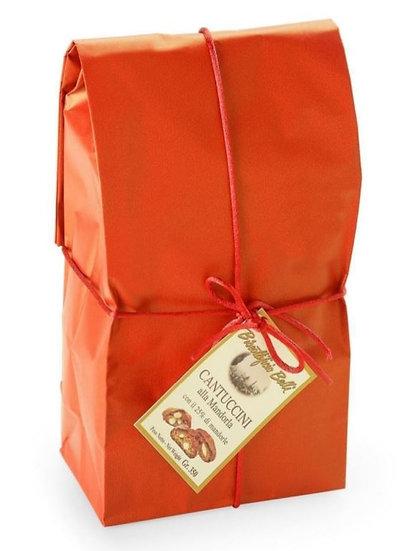 PRATO BELLI - Cantuccini met 25% amandelen IGP in rood zakje