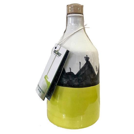LINEA TRULLO - olijfolie in keramiek kannetje groen