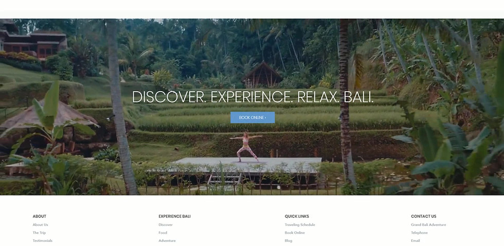 Luxury Travel Website Project