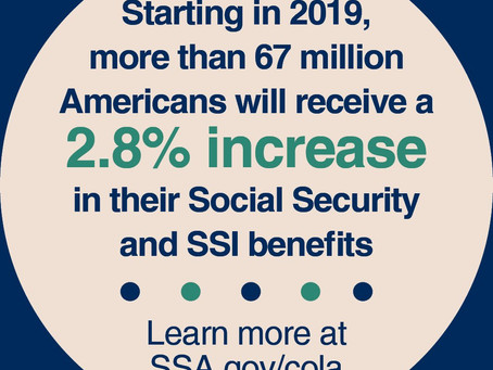 2019 Social Security Benefits