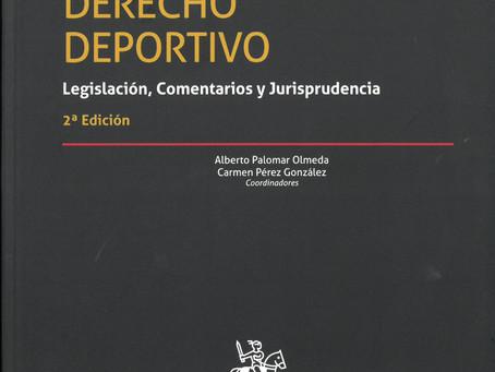 La Publicación del Libro digital: Derecho Deportivo.