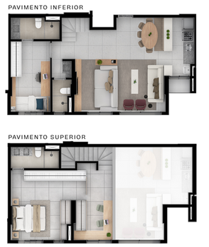 Duplex A Superior e Inferior - 107M