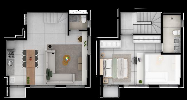 Duplex B Superior e Inferior  - 72M