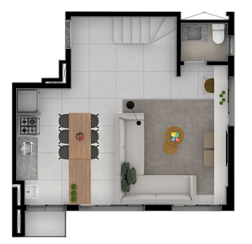 Duplex B Inferior Separado - 72M