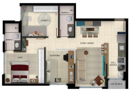 Versátil - 73m² - Office