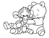 winnie the pooh - en dejlig krammer