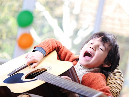 Musicoterapia para crianças com Transtorno do Espectro Autista (TEA)