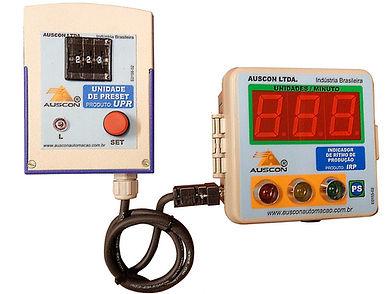 AUSCON AUTOMAÇÃO INDUSTRIAL segurança de chama para queimadores e indicadores de rítmo de produção indicador de rítmo de produção e coleta supervisor de dados de produção