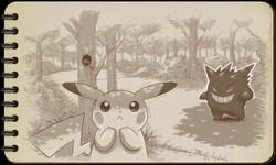 Pokémon Art Academy illustration