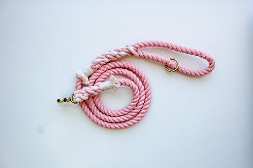 Blush Rope Leash