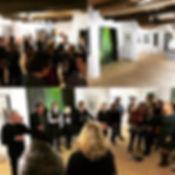 Eröffnung der ersten #Ausstellung in der