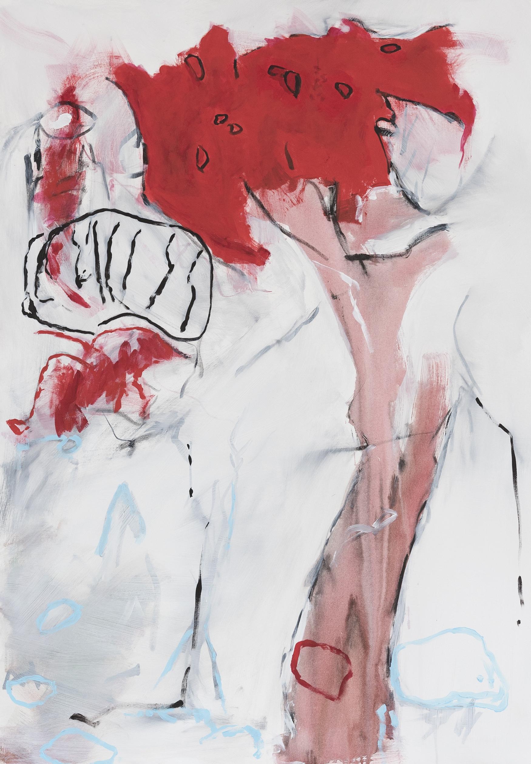 Rainer Gröschl, 2018, DK, Acryl auf Leinwand 2018, 140 x 100 cm