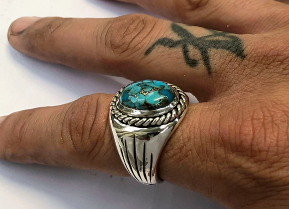 The Turquoise Rope Signet