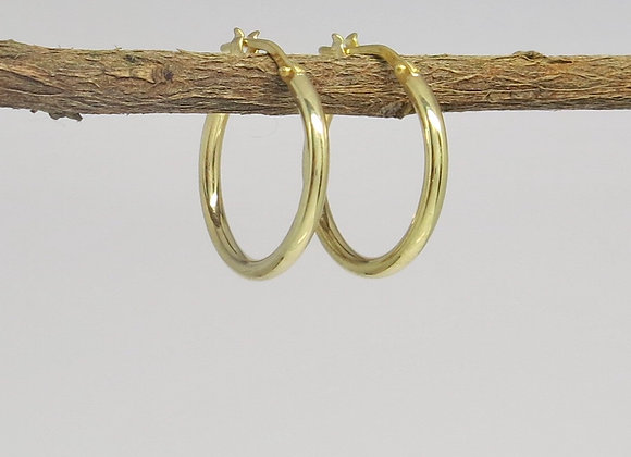 The Classic Small Gold Hoops