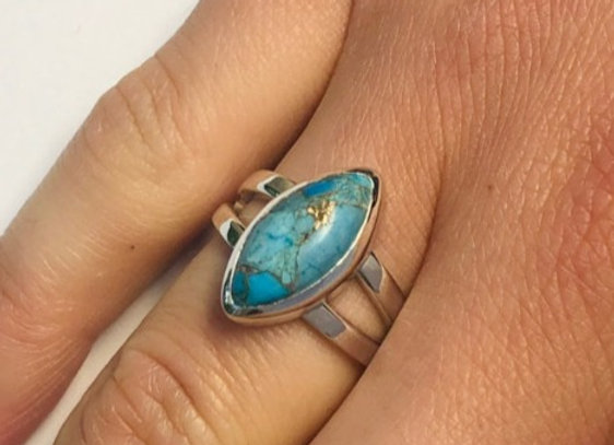 The Marquise Turquoise