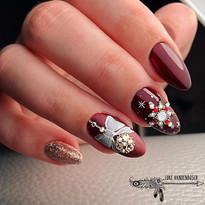 ✨🎄#nails #nailart #christmas #christmas