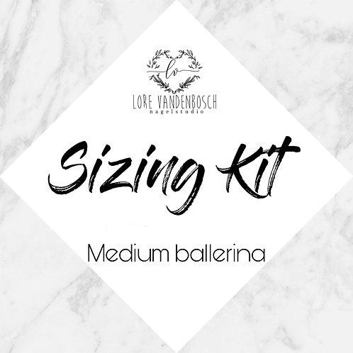 sizing kit medium ballerina