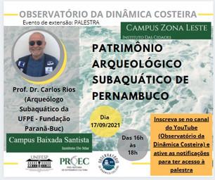 PATRIMÔNIO ARQUEOLÓGICO SUBAQUÁTICO DE PERNAMBUCO
