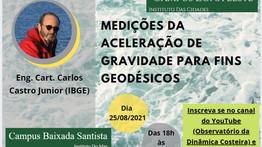 MEDIÇÕES DA ACELERAÇÃO DE GRAVIDADE PARA FINS GEODÉSICOS