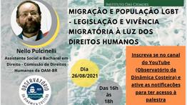 MIGRAÇÃO E POPULAÇÃO LGBT - LEGISLAÇÃO E VIVÊNCIA MIGRATÓRIA À LUZ DOS DIREITOS HUMANOS