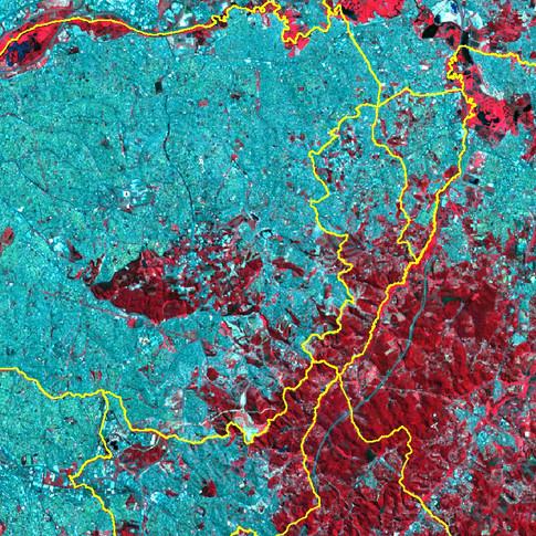Imagem Landsat8 - RGB_543
