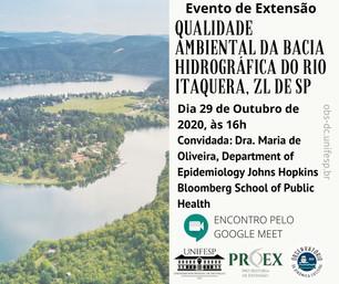 Qualidade ambiental da BH do rio Itaquera, São Paulo/SP