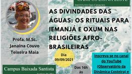 AS DIVINDADES DAS ÁGUAS: OS RITUAIS PARA IEMANJÁ E OXUM NAS RELIGIÕES AFRO-BRASILEIRAS