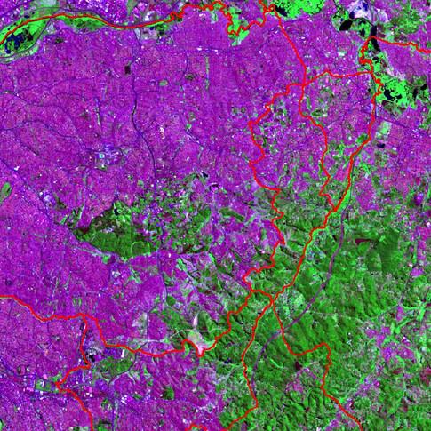 Imagem Landsat8 - RGB_753
