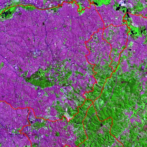 Imagem Landsat8 - RGB_764