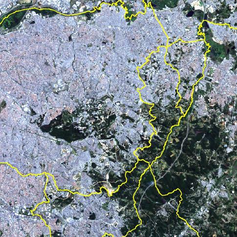 Imagem Landsat8 - RGB_432