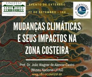 MUDANÇAS CLIMÁTICAS E SEUS IMPACTOS NA ZONA COSTEIRA