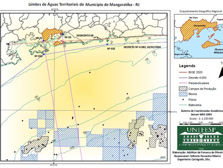 Mapeamento de Águas Territoriais