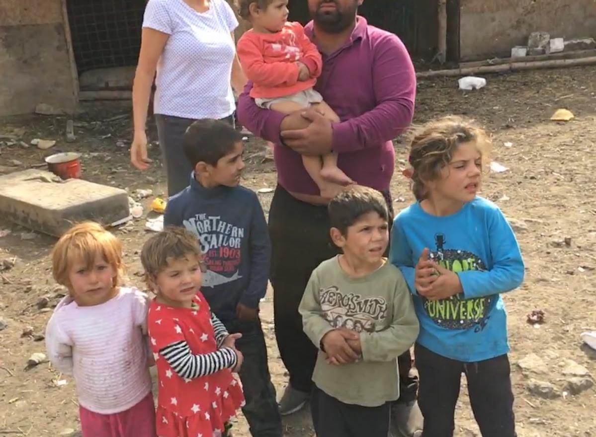 En af de familier, der bliver hjulpet