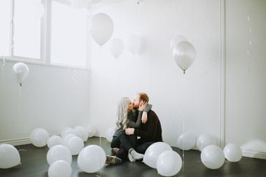 Balloon Engagements // Provo, UT // Maddy & Brock