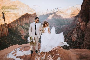 Zion National Park Formals // Springdale, UT // Brooke & Josten
