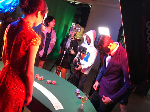 Gambling Scene