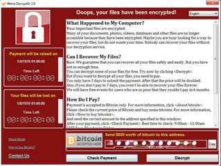 WCry2 Ransomware Outbreak!