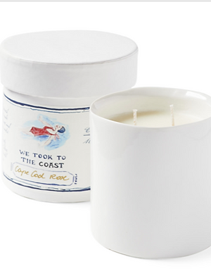 Cape Cod Rose Candle