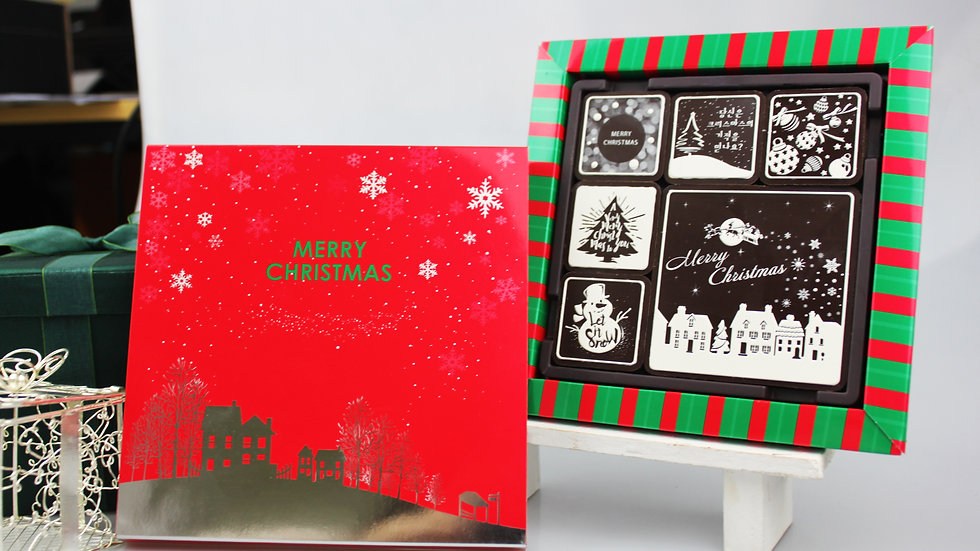 ♥X-mas Chocolate♥(9マスサイズ)6個入り