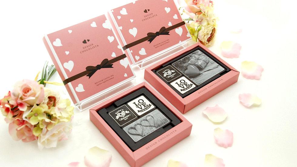 ♥Valentine Chocolate♥(6マスサイズ)3個入り