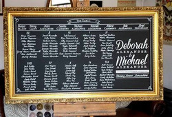 Deborah & Michael Table Plan