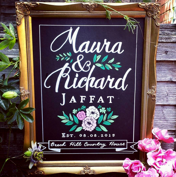Maura & Richard Gift Artwork